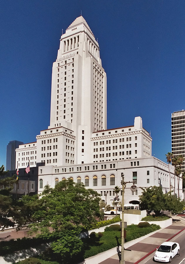 Los Angeles City Hall. Photo by Brion Vibber