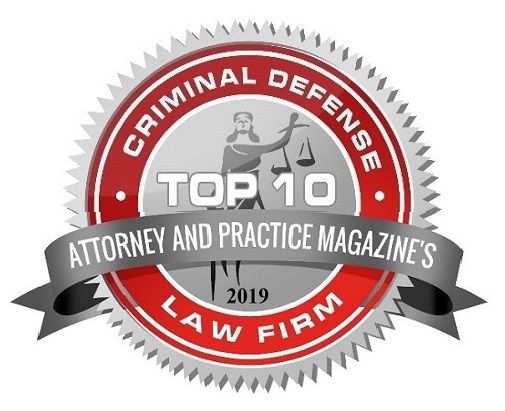 Attorney and Practice Magazine ranked Spolin Law P.C. among the top 10 criminal law firms in California