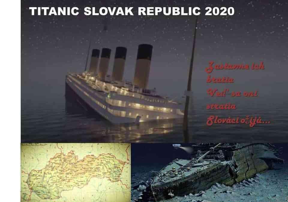 "Peter Zajac-Vanka: ""Titanik"" Slovenská republika"