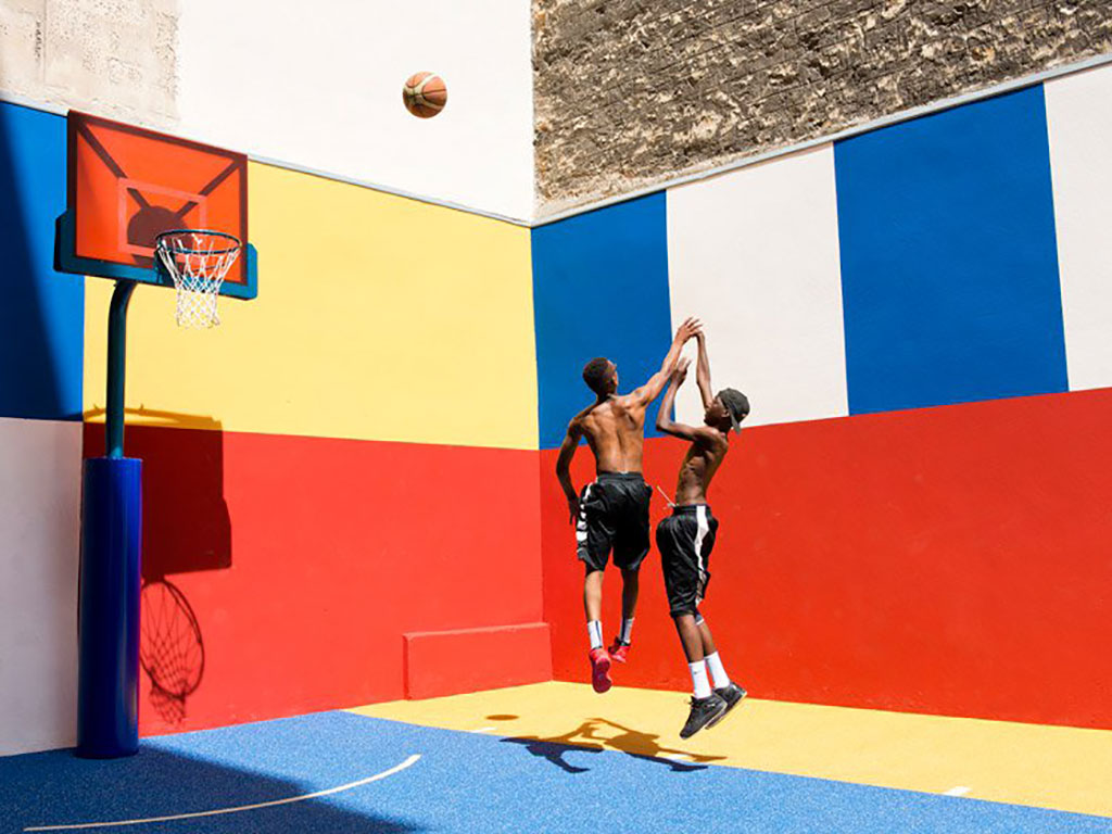 Pigalle basketball court — Spoly