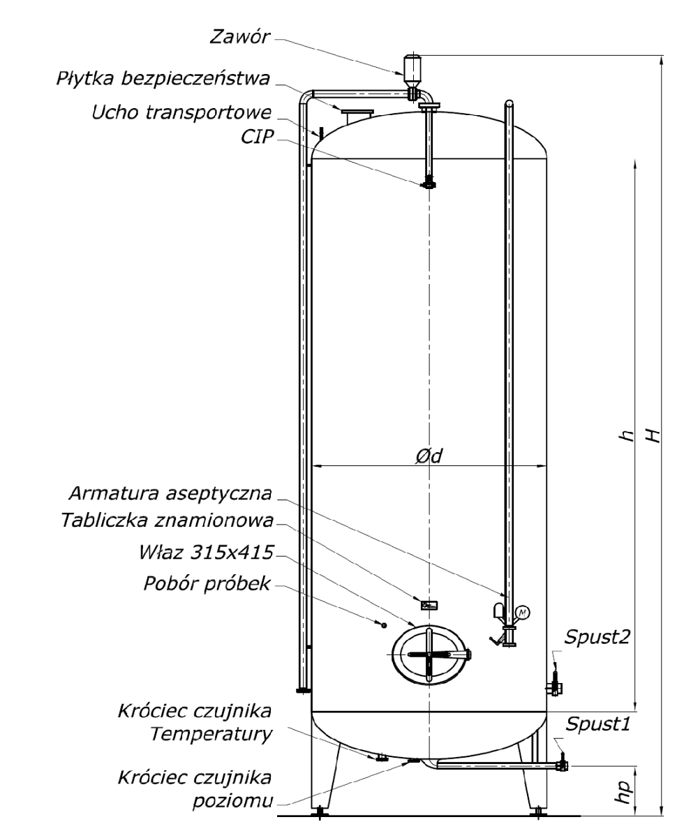 hight resolution of pressure tanks