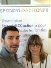 avec François LAMIRAUD, notre parrain sportif