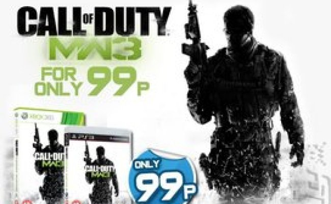 War Gamestop Offers Modern Warfare 3 For 99p On