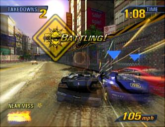 Burnout 3 Takes Down Xbox Live EA Pulls Back Into The
