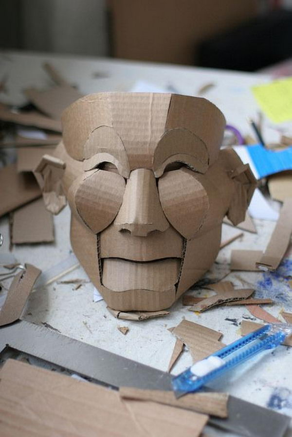 20 DIY Halloween Mask Crafts For Kids Sponge Kids