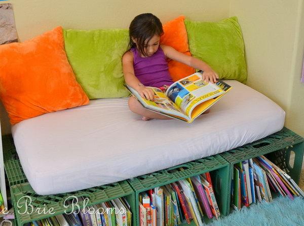 wooden corner chair hanging garden pod uk 15 creative book storage ideas for kids