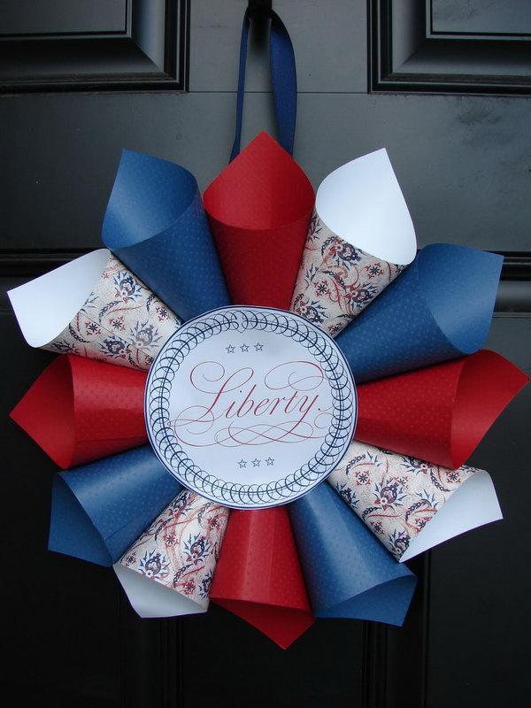 DIY Patriotic Wreath Ideas For 4th Of July Or Memorial Day