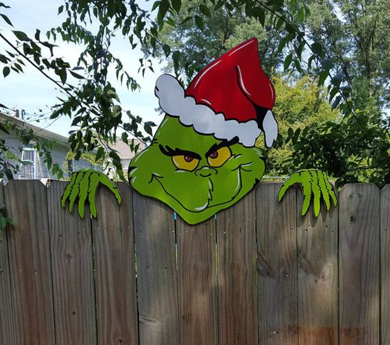 Grinch Christmas Decoration. DIY Grinch Christmas Crafts