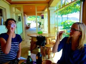 Weinverkostung Geraldine