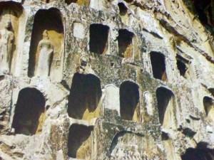 Henan Longmen-Grotten