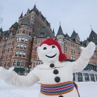 Provinz Québec - Aktiv bei Eis und Schnee