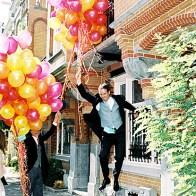 Spontane Fotografie balonnen