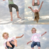 Spontane Fotografie jump for joy