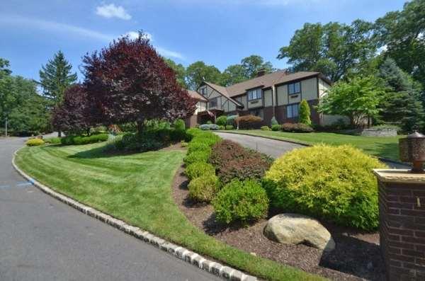 landscaping hillside home
