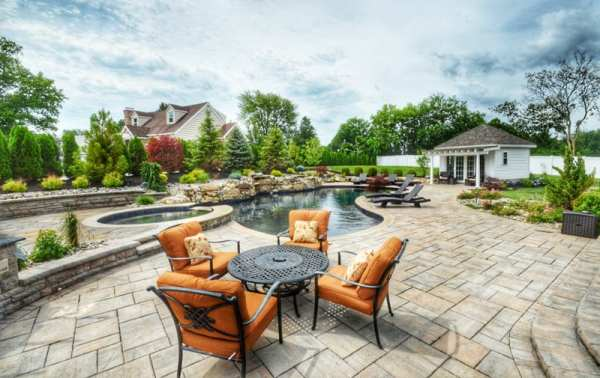 types of hardscaping materials