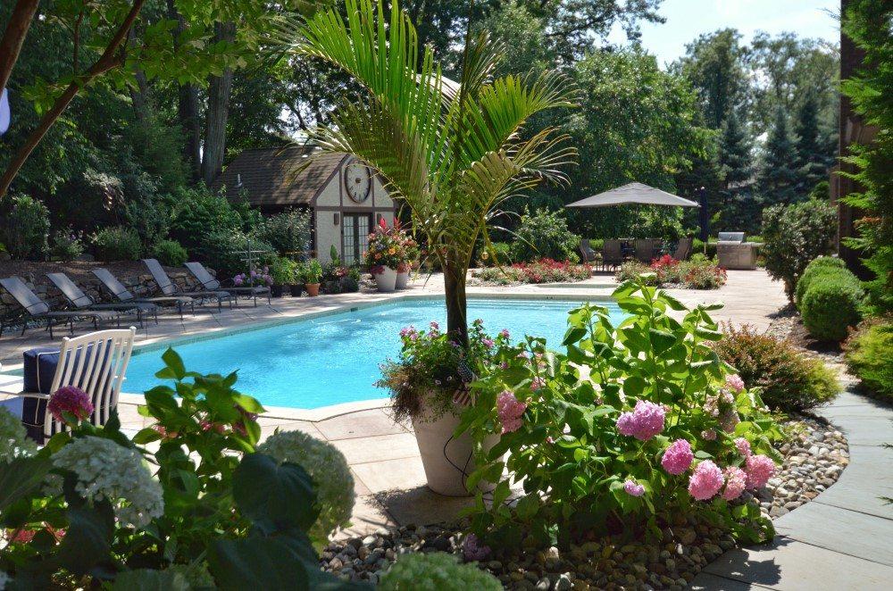 Expansive Raised Terrace Glen Ridge NJ  Sponzilli Landscape Group