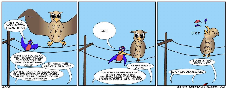 Sorry Jorocks, no one gives a hoot.