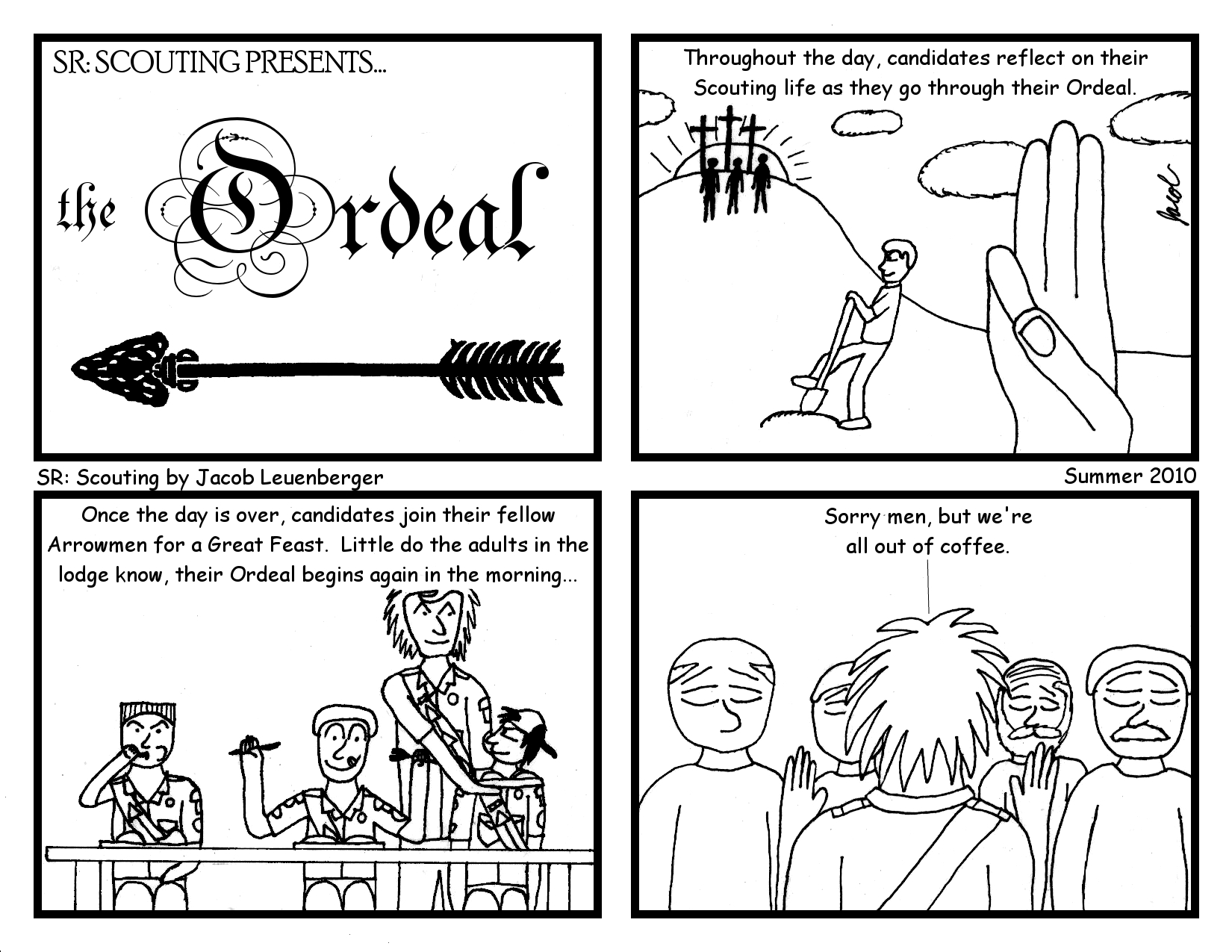The long lost comic of the Sundial!
