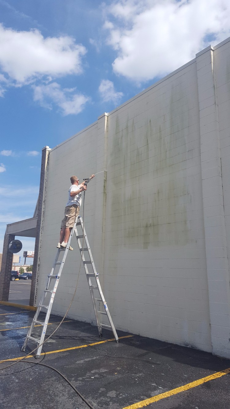 commercial pressure washing Marrero