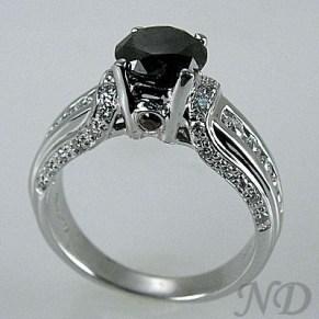 black diamond solitare