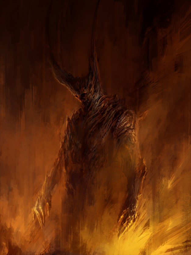A Shadow in Flames