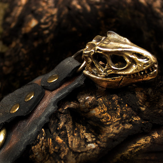 Forged brass and iron jewelry by MAGICrebEL