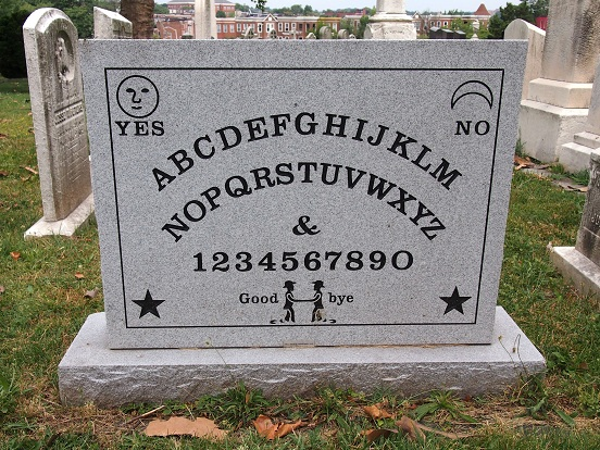 OTIS visits the inventor of the Ouija board