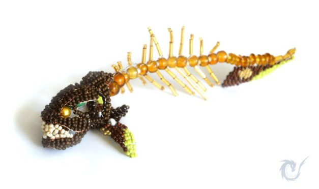 Beaded creatures by Fluffy's Minion