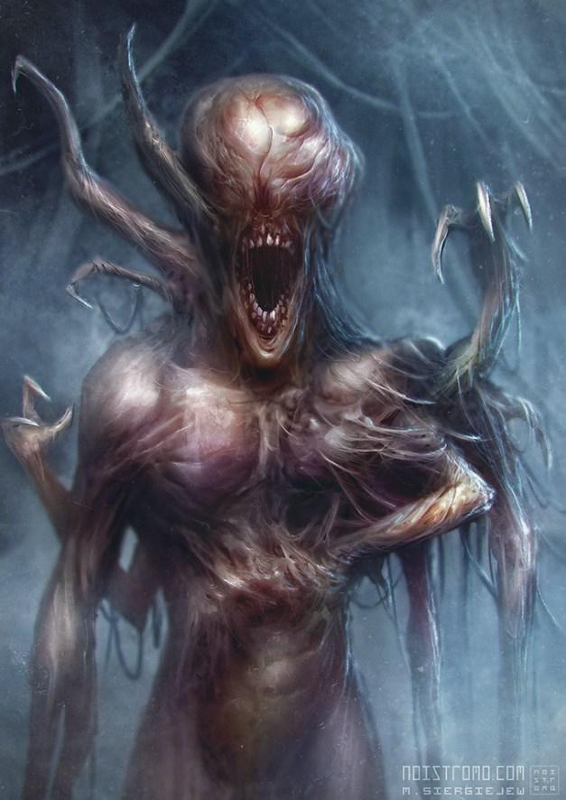 Monster - Scream, by Noistromo