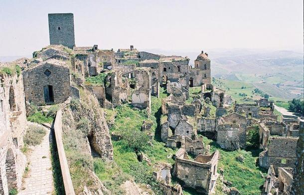 Abandoned Medieval Ghost Town