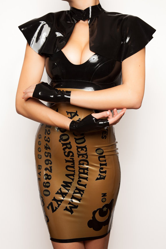Latex Dress from Vital Vein Fashion
