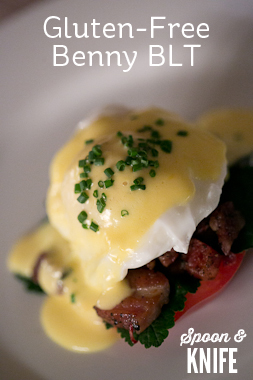 Gluten-Free BLT Eggs Benedict