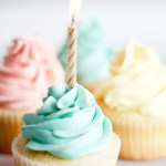 Vanilla Birthday Cupcakes | www.SpoonfulOfButter.com