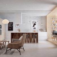 INT2 Architecture | Bright and Cozy apartment in Saint Petersburg (Part 2/3)