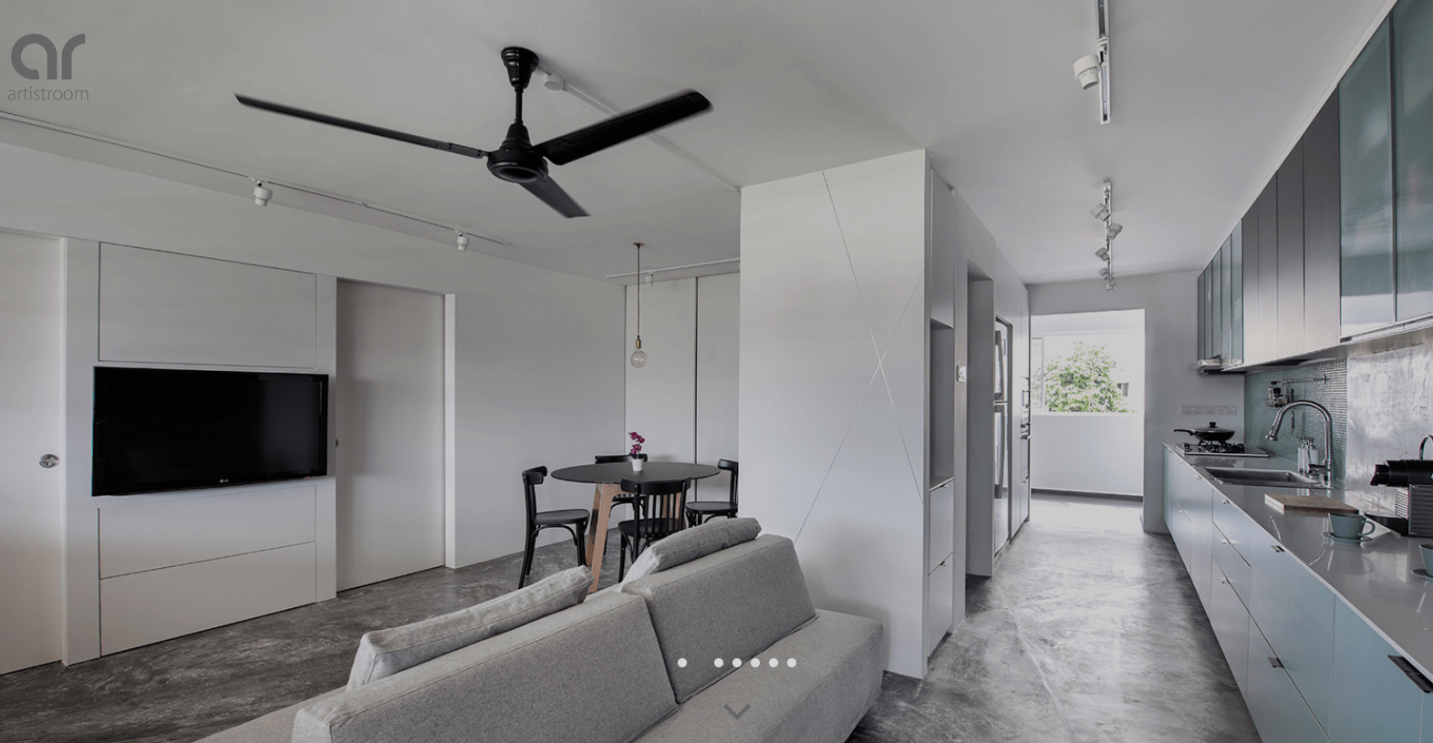 Raw And Beautiful A Sin Ming Ave Apartment By Artistroom