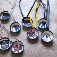 DIY Transformer Necklace and Game