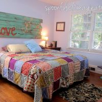 DIY King Size Rag Quilt {Repost}