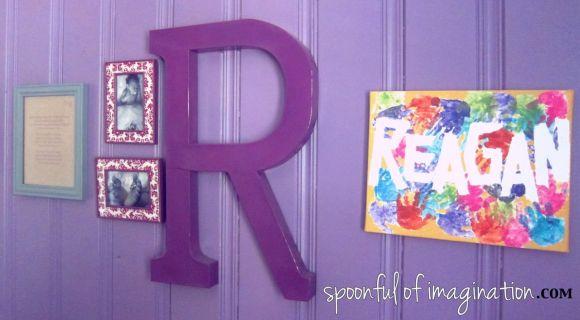 girl's wall art