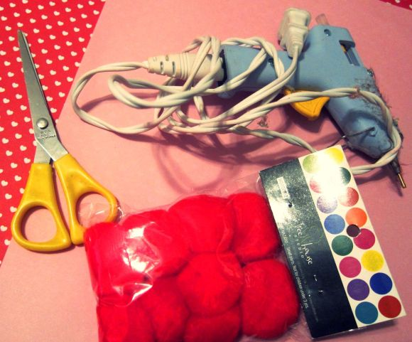 materials for vday craft