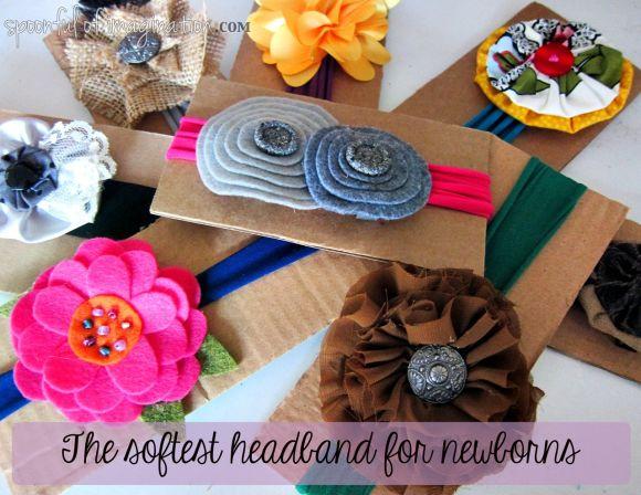 the sofest headband for newborns