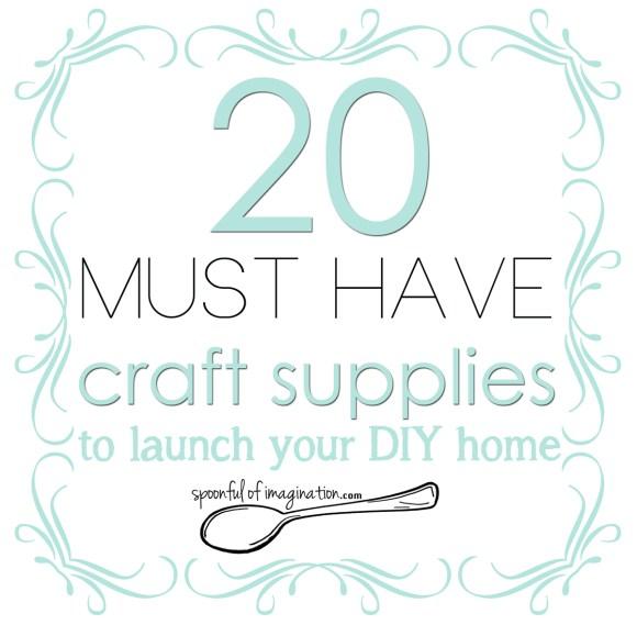 20 top DIY craft supplies