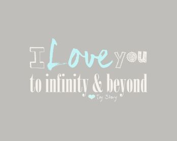 To infinity Beyond (blue)