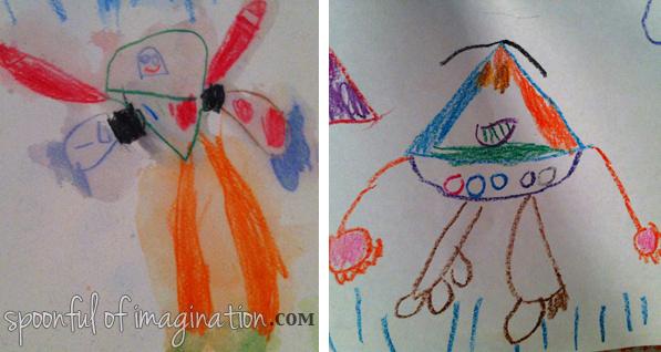 drawing of buzz lightyear