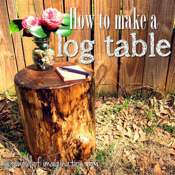 DIY log table2