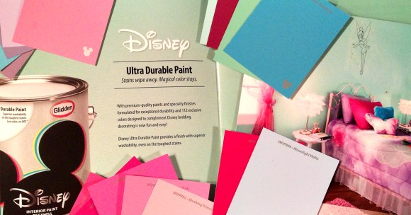 Disney Paint by Glidden at Walmart