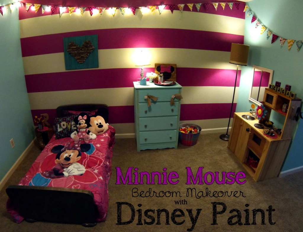 Minnie Mouse Bedroom Reveal  Spoonful of Imagination