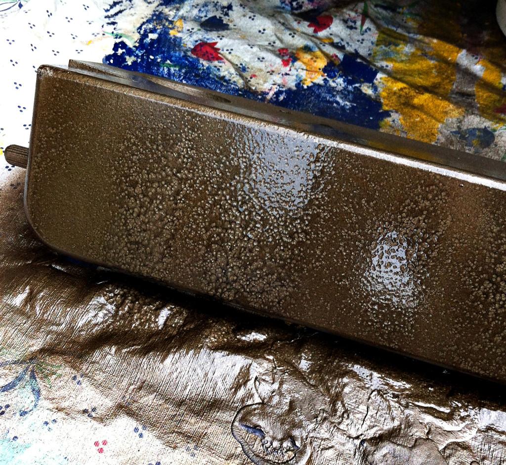 Matte Black Spray Paint Metal
