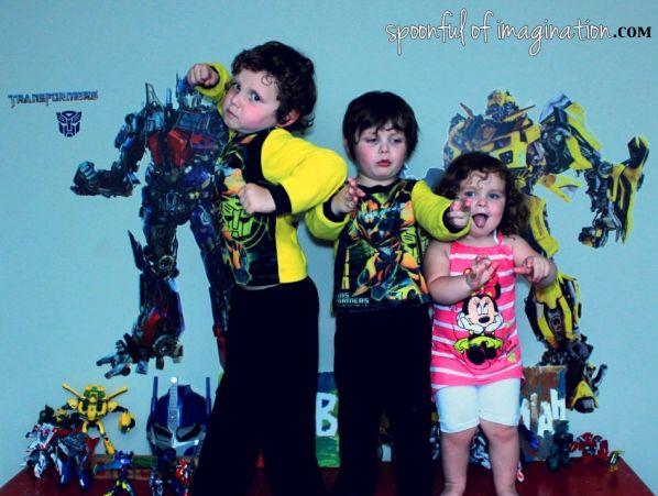 kids love transformers