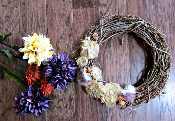 creating a new wreath
