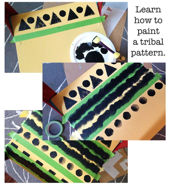 steps_to_paint_tribal_pattern